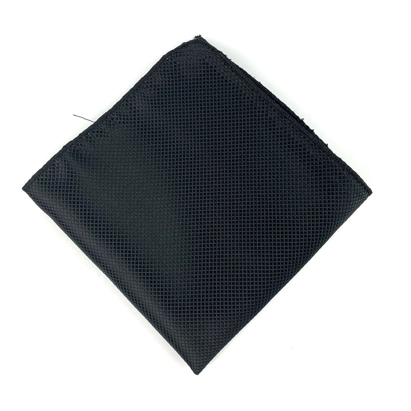 Black Pocket Square