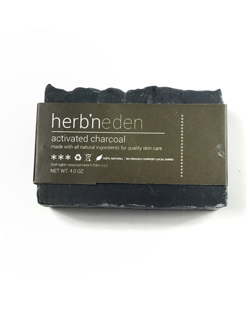 Herb N Eden Activated Charcoal Soap
