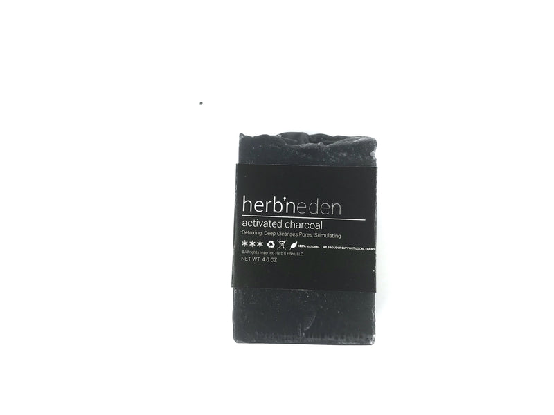 Herb'N Eden Activated Charcoal Mini Soap