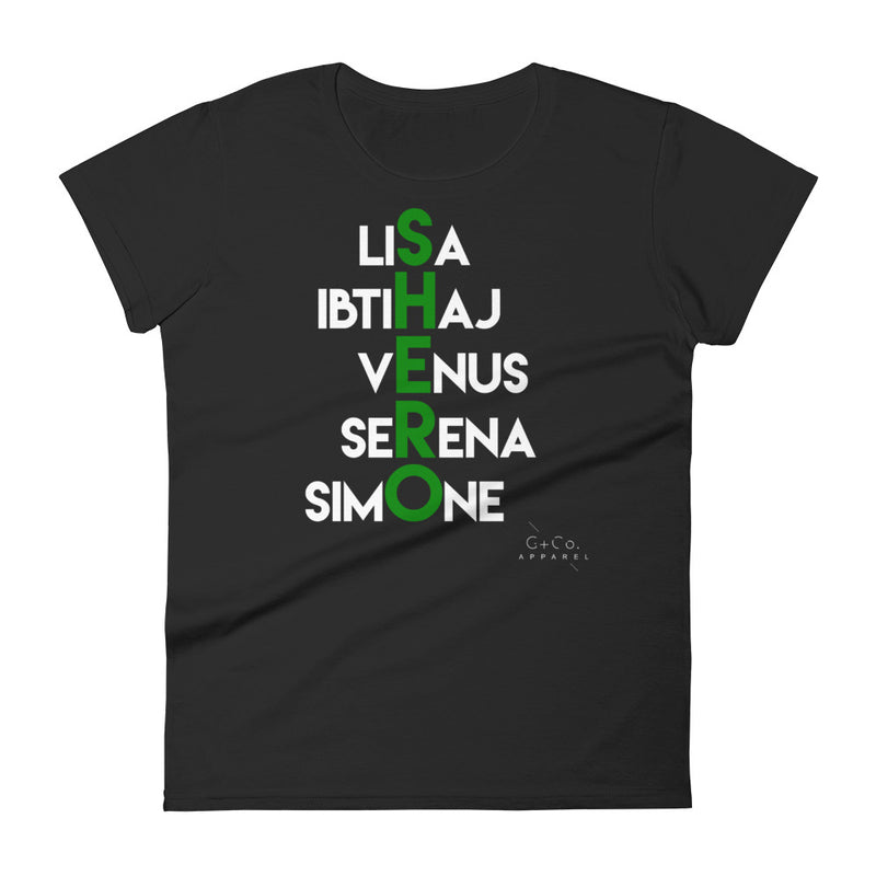 Shero pt. 2 Women's T-shirt - Green Label