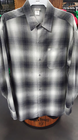 Plaid Grey Mens