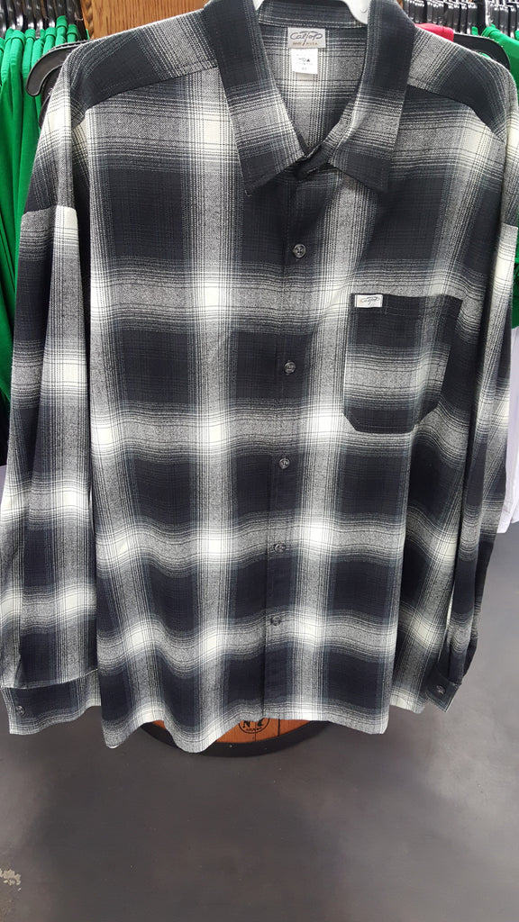 Plaid Black Mens