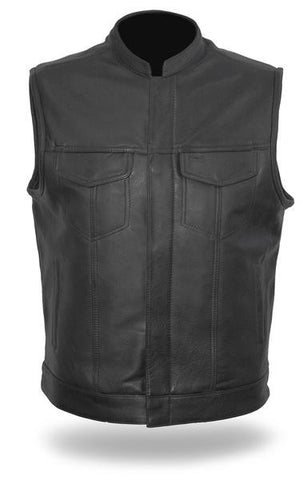 Sharp Shooter men's leather vest