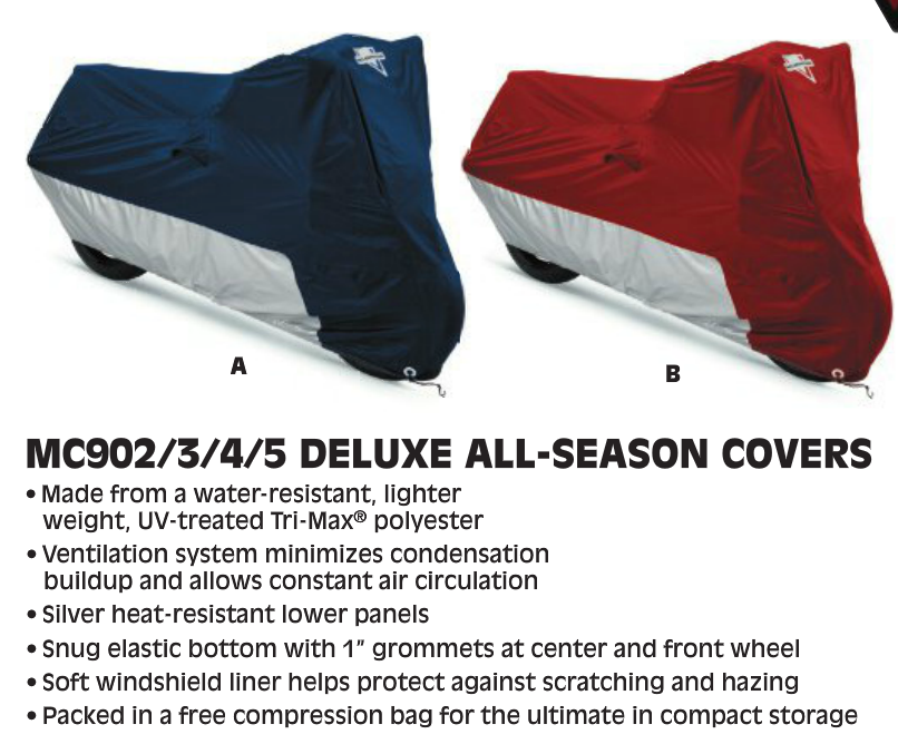 All Season Motorcycle Cover
