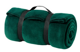 Fleece Blanket with Strap