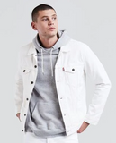 White Levi's Trucker Jacket