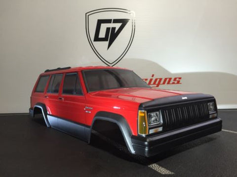 CUSTOM RC Pro-line 1992 Jeep Cherokee Body Shell
