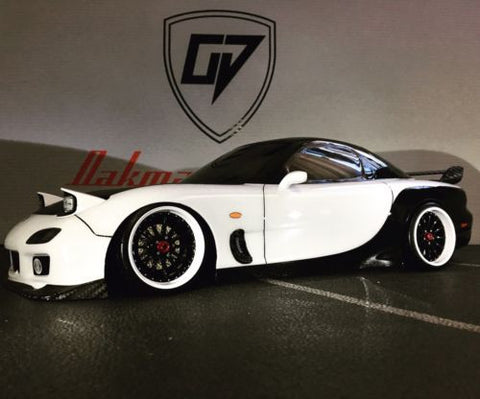 CUSTOM TAMIYA 1/10 Mazda RX7  BODY SHELL