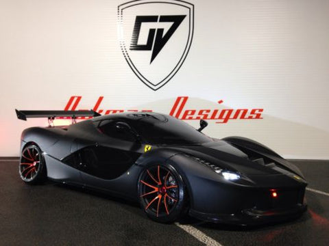 CUSTOM TAMIYA 1/10 LaFERRARI  TOURING DRIIFT BODY SHELL
