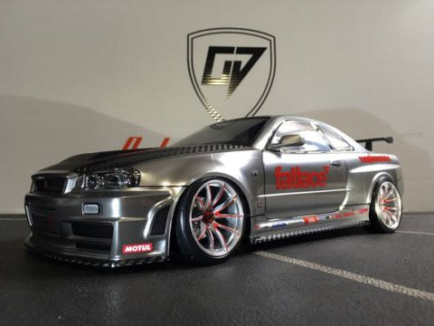CUSTOM TAMIYA 1/10 Nismo R34 BODY SHELL