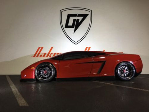 CUSTOM 1/10 HPI LAMBORGHINI GALLARDO BODY SHELL