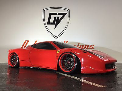 CUSTOM RC TAMIYA 1/10 FERRARI 458 challenger BODY SHELL