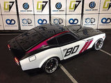 CUSTOM RC TAMIYA 1/10 DATSUN 240Z BODY SHELL