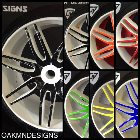 OAKMAN DESIGNS 1:5 GRP WHEEL SKINS