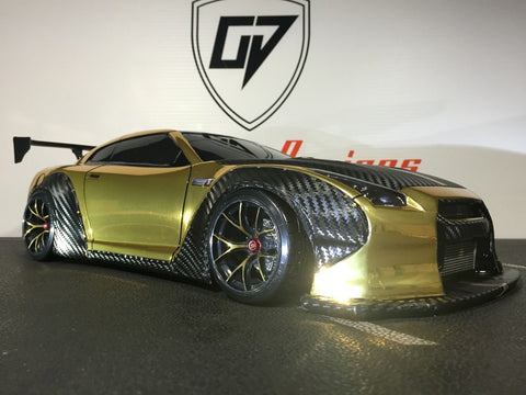 CUSTOM TETSUJIN LIBERTYWALK LB WORKS BODY SHELL