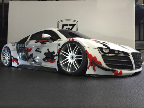 Losi Audi R8 LMS Ultra Custom Built Body