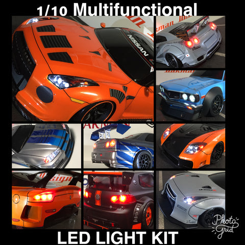 1/10 RC DRIFT CAR LED LIGHT KIT