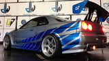CUSTOM TAMIYA 1/10 Nismo R34 BODY SHELL PAUL WALKER EDITION
