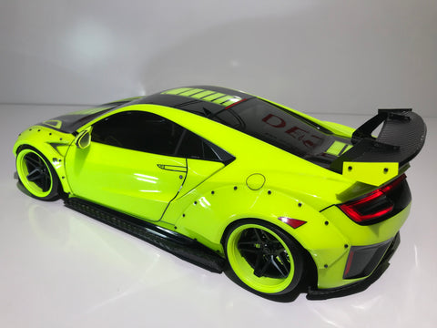 CUSTOM RC TAMIYA 1/10 LIBERTY WALK ACURA NSX BODY SHELL