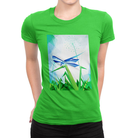 Dragonfly - Place where we live <span class='hidden'>Womens' T</span>