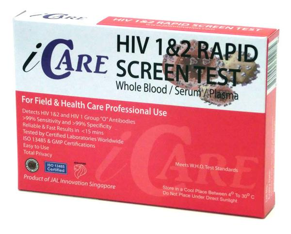HIV test kits, options and evaluations