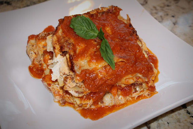 Frescobene Sausage Ragu Lasagna for Two