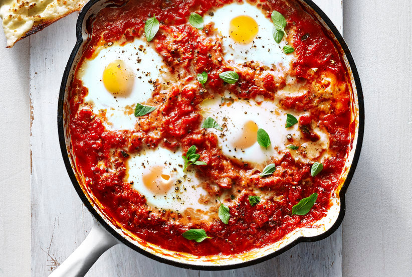 Italian Eggs in Purgatory