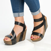 Gladiator  Black Wedge