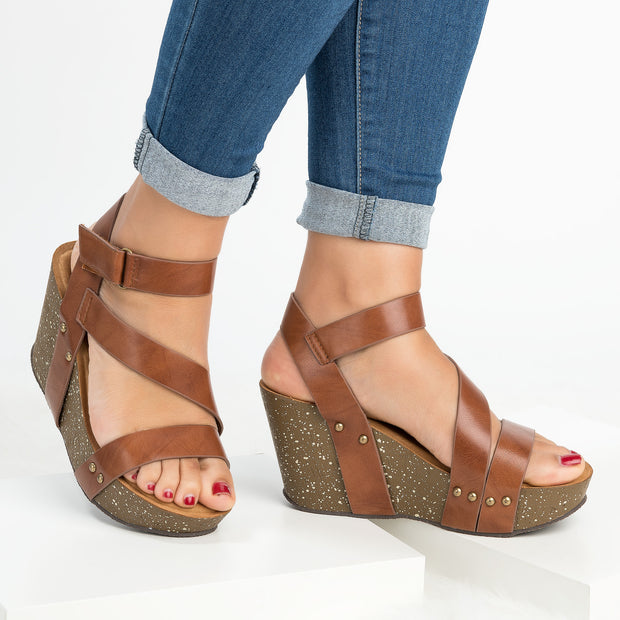 Gladiator Whiskey Platform Wedge