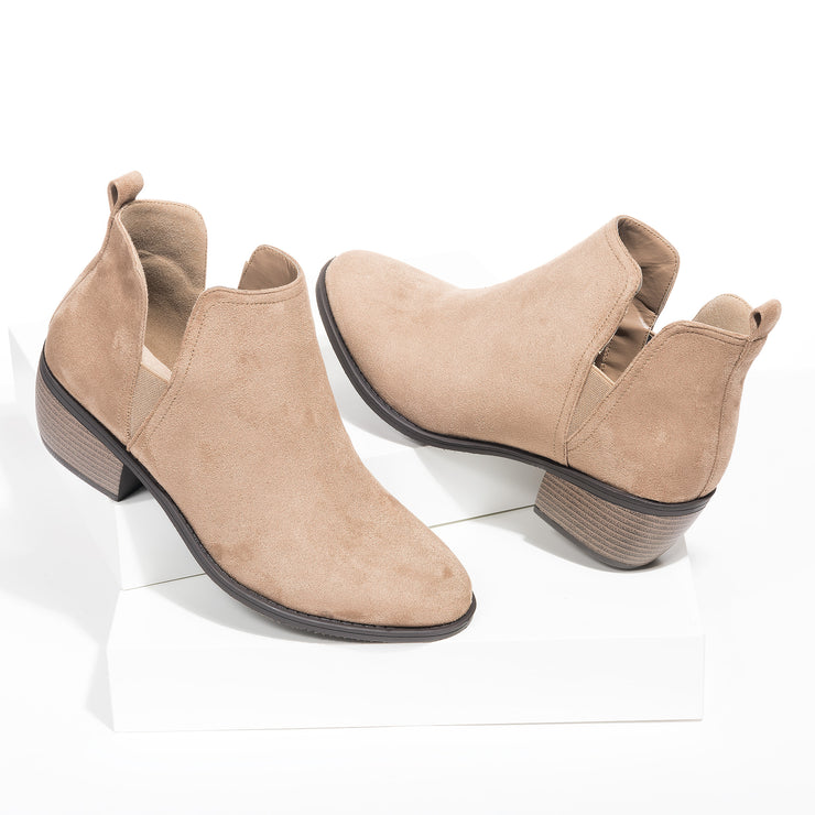 Victoria Cutout Booties