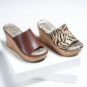 Tan Slide Wedges