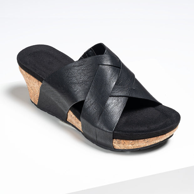 Comfort Slide Wedges