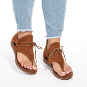 Gladiator Tan Thong Sandals
