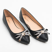 Bow Point-Toe Flats