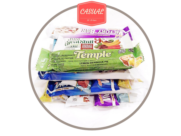 2. Casual Box (20-24 gluten free bars)