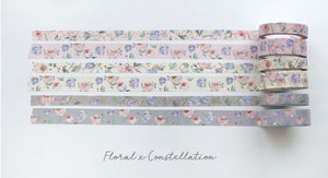 Washi Tape | Constellation x Floral