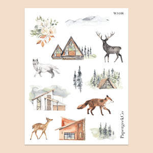 Forest Stickers 106