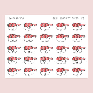 Sushi Mood Stickers 121 - PapergeekCo