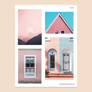 Pink - Stock Photo Stickers 135 - PapergeekCo
