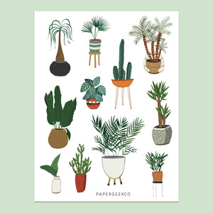 Indoor Plants Stickers vol.1 - 153