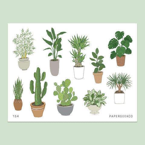 Indoor Plants Stickers vol.2 - 154