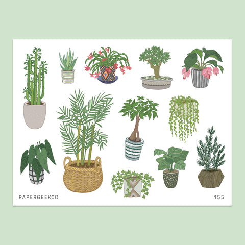 Indoor Plants Stickers vol.3 - 155