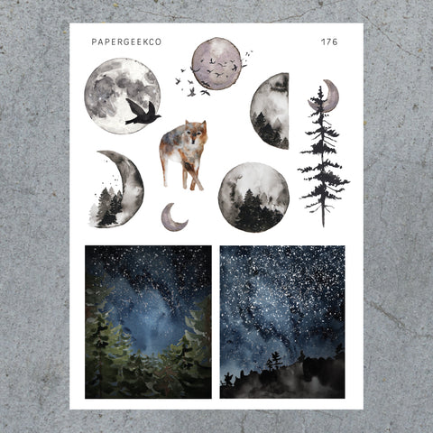 Into the Woods Stickers 176 - PapergeekCo