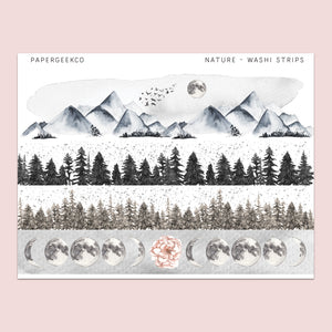 Nature - Washi Strips 189 - PapergeekCo