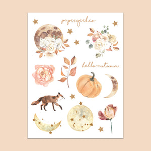Autumn Celestial Stickers 241 - PapergeekCo
