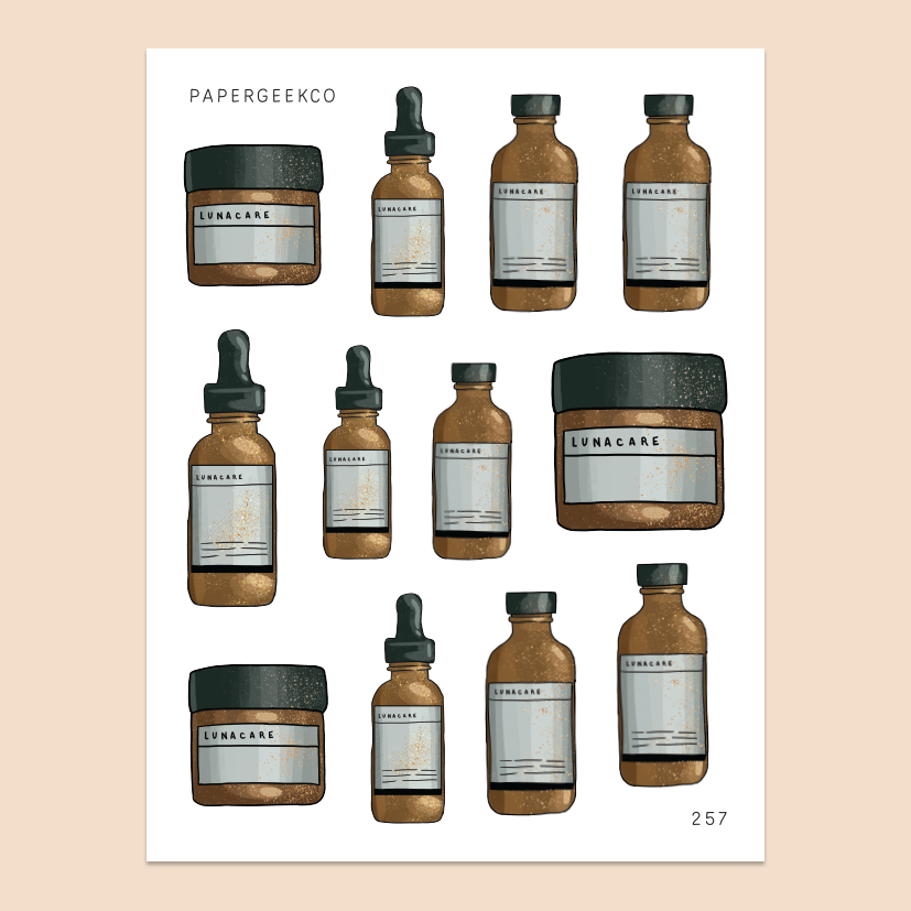 Apothecary Jay Stickers 257 - PapergeekCo