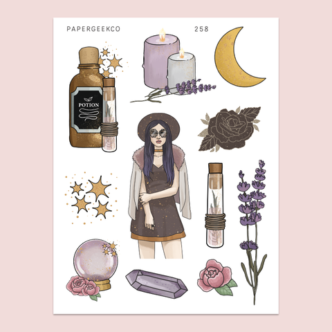 Celestial Witchcraft Stickers 258 - PapergeekCo