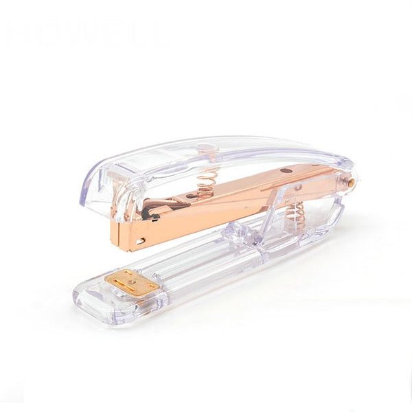 Rose Gold Acrylic Stapler - PapergeekCo