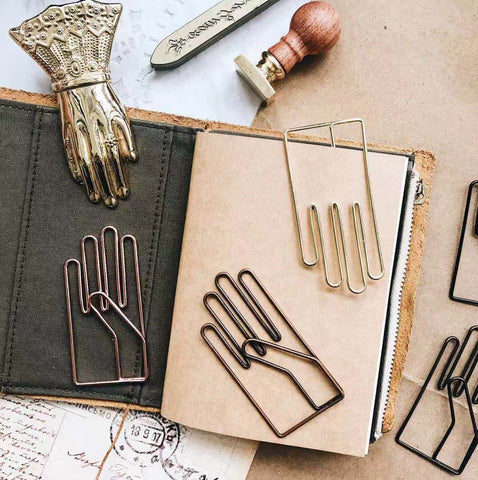 Hand Paper Clips - PapergeekCo