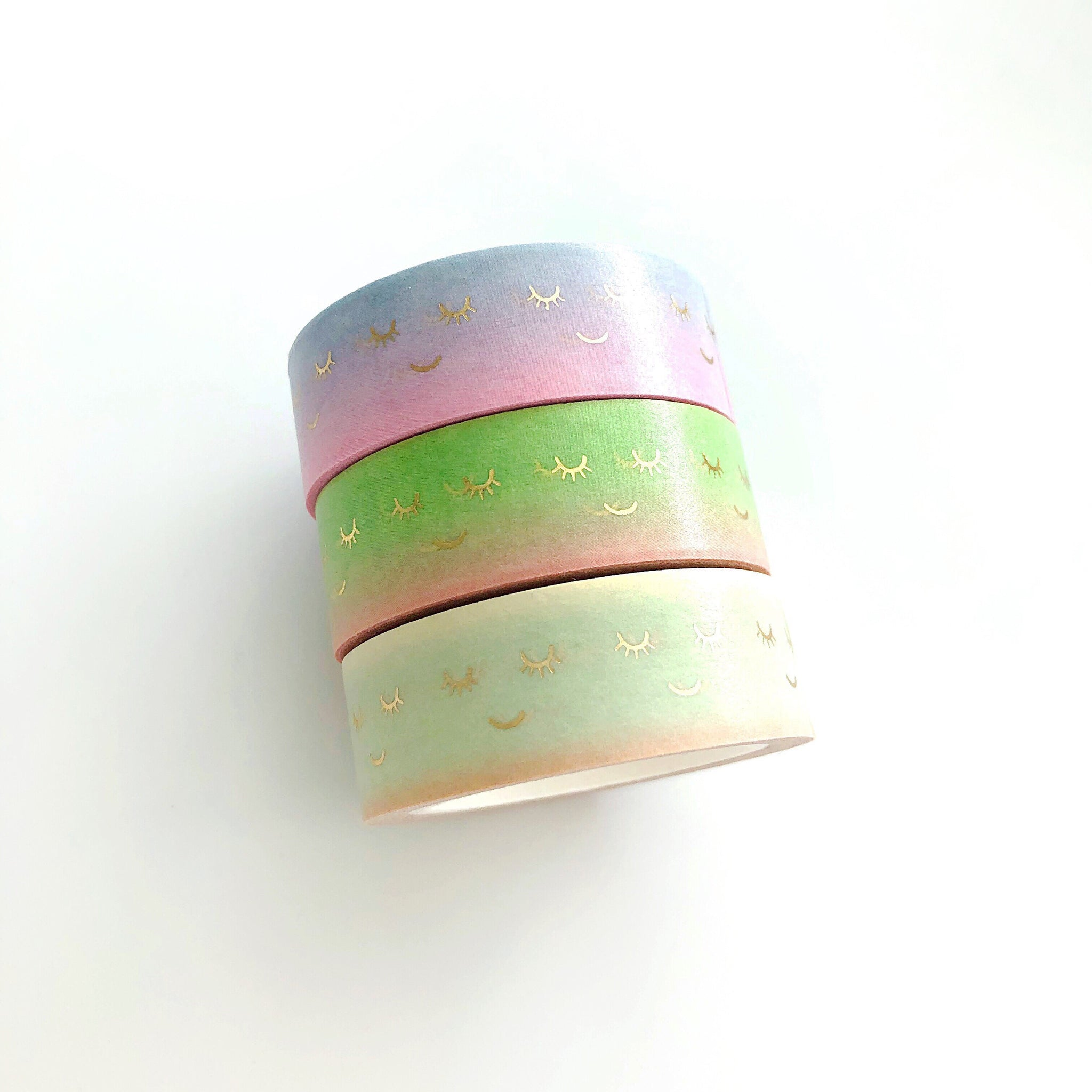 Smile - Cute Lashes Washi Tape - PapergeekCo